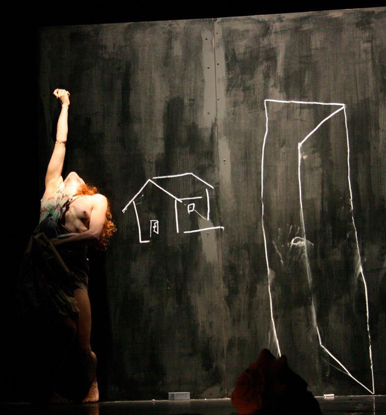 Un'immagine dallo spettacolo